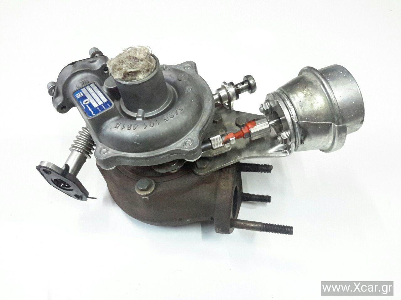 Turbo-Τουρμπίνα FIAT GRANDE PUNTO Hatchback / 3dr 2005 - 2008 ( 199  } 1300 ( 199A3.000  } Diesel 90 Multijet #54359880014