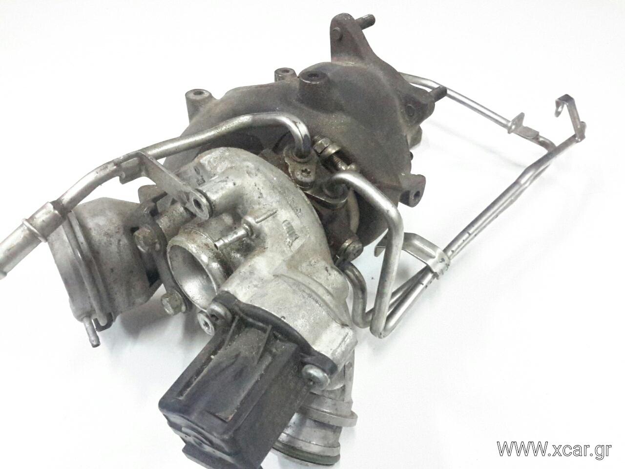Turbo-Τουρμπίνα VW GOLF Hatchback / 3dr 2004 - 2008 ( Mk5  } 1400  ( CAXA  }  Petrol  122  TSI #TD025M207T23