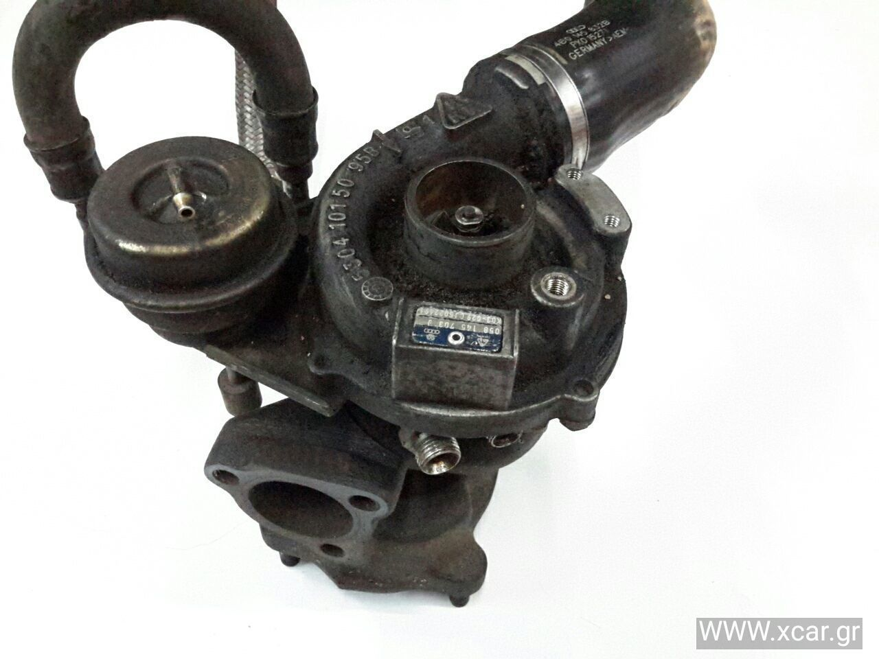 Turbo-Τουρμπίνα VW PASSAT Sedan / 4dr 2000 - 2005 ( 3B3  } 1800  ( AWL  } ( AWT  }  Petrol  150  Turbo #058145703J
