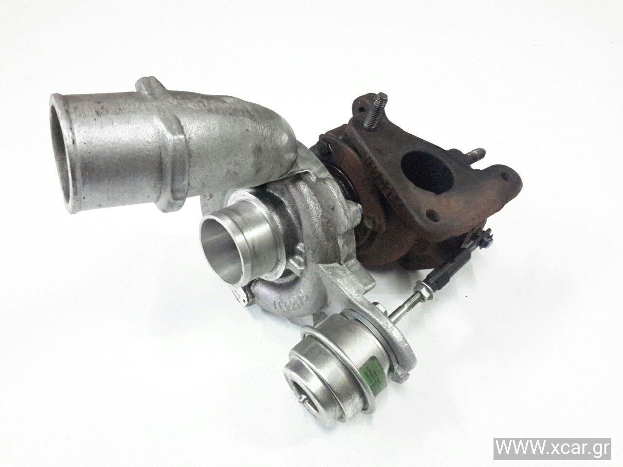 Turbo-Τουρμπίνα RENAULT MEGANE ( LA  } Sedan / 4dr 1999 - 2002 1900 (F9Q731 } Diesel 98 dTi #7517685004S