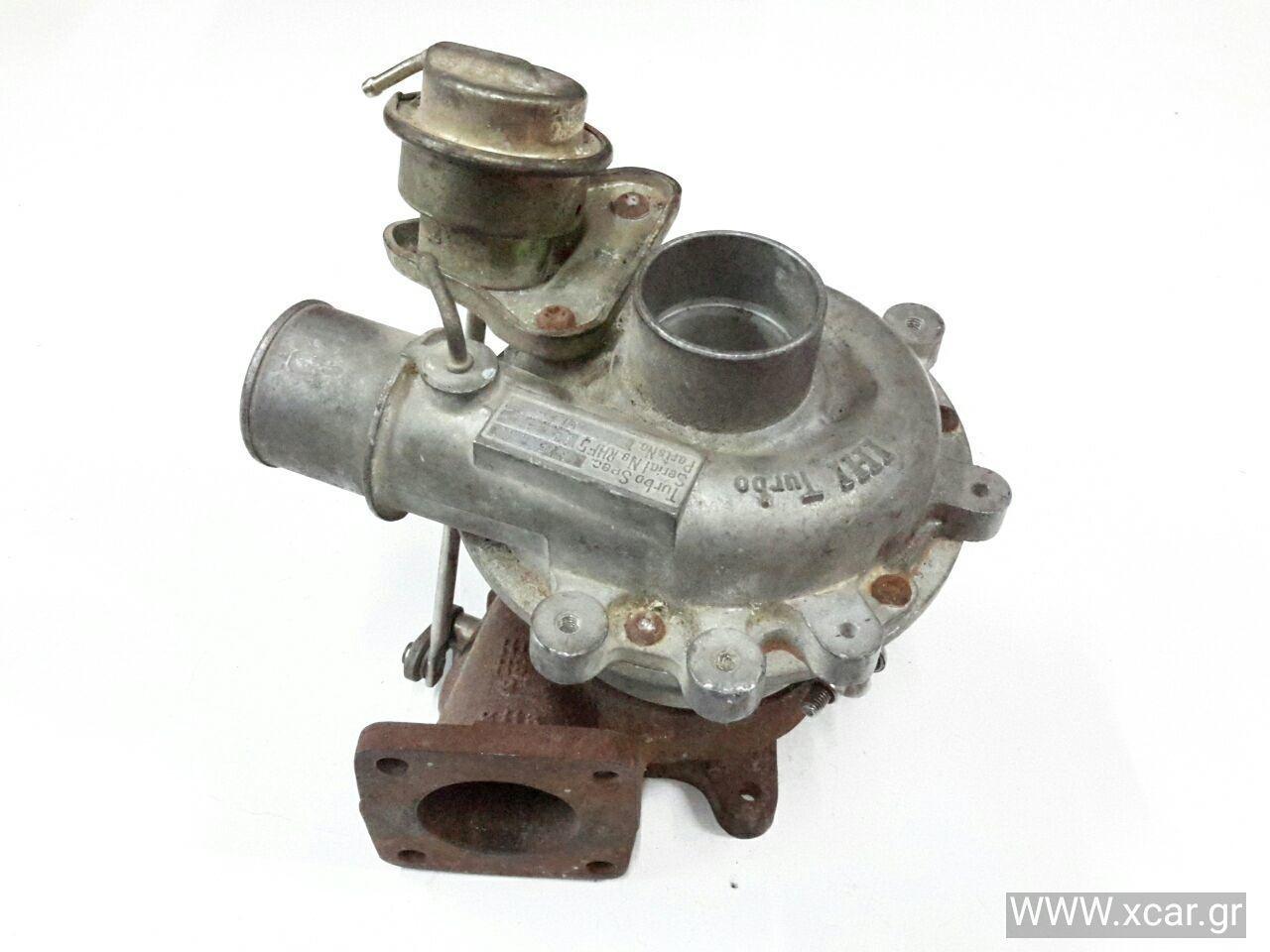 Turbo-Τουρμπίνα FORD RANGER Pick-Up / 2WD / Μονη Καμπίνα 1999 - 2003 ( TU_  } 2500 ( WL-T  } Diesel 109 Turbo #WL84