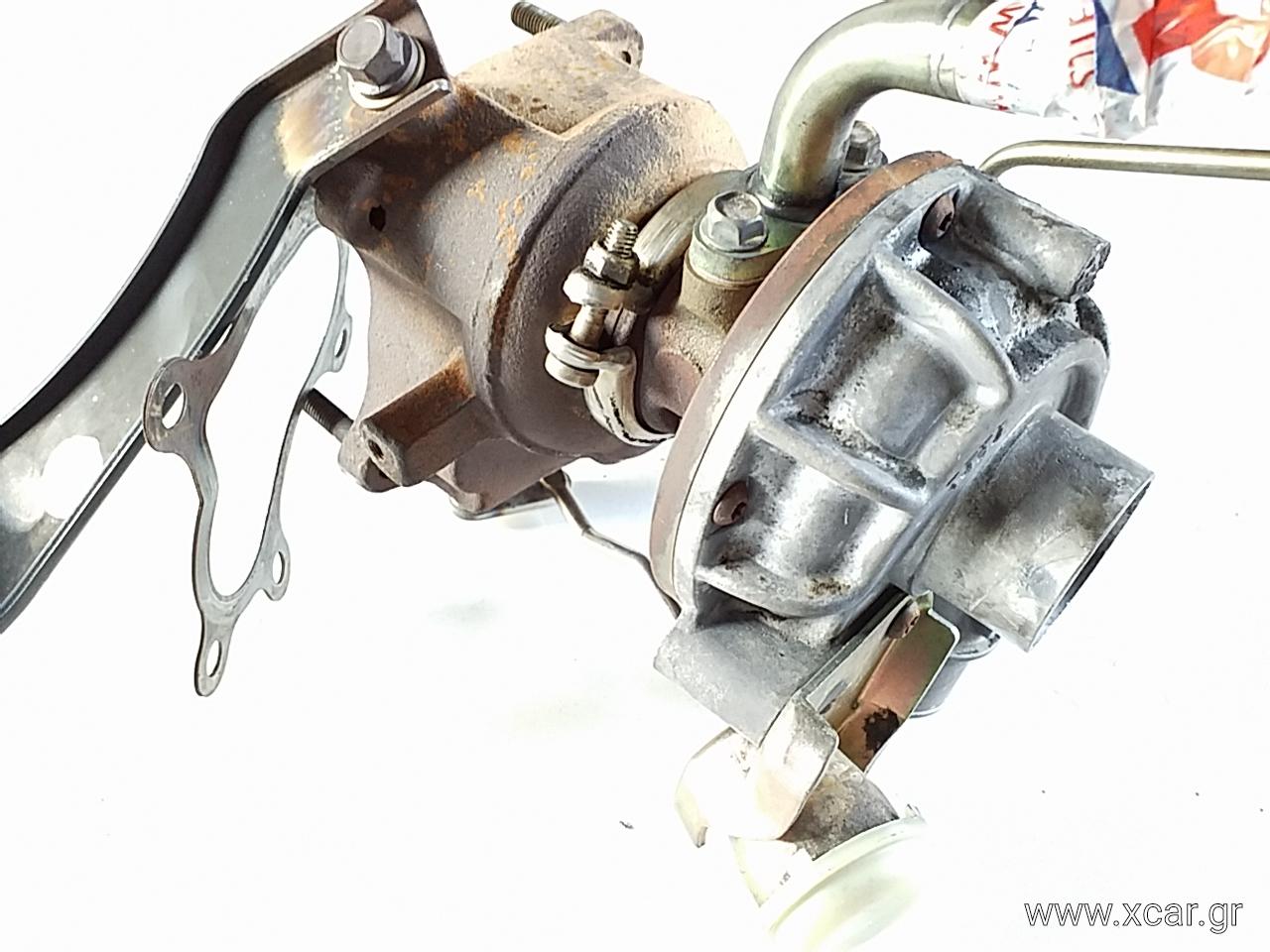 Turbo-Τουρμπίνα FORD RANGER Pick-Up / 2WD / Μονη Καμπίνα 1999 - 2003 ( TU_  } 2500 ( WL-T  } Diesel 109 Turbo #VJ310109