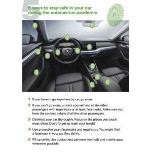 οδήγηση και προστασία απο τον κορονοιό
