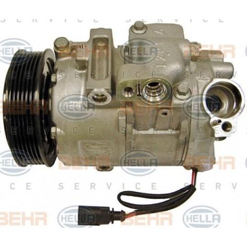 Συμπιεστής A/C (Κομπρέσορας) VW GOLF 1998 - 2004 ( Mk4 ) BEHR HELLA SERVICE 8FK 351 110-971