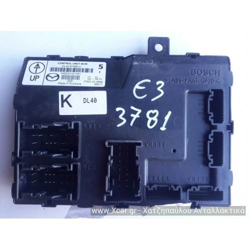 Μονάδα Άνεσης MAZDA 2 2007 - 2010 ( DE ) BOSCH DL4067560C