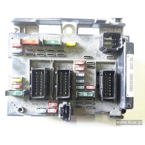 Ασφαλειοθήκη Εξωτερική PEUGEOT 206 2000 - 2008 ( CC ) DELPHI 9650663880