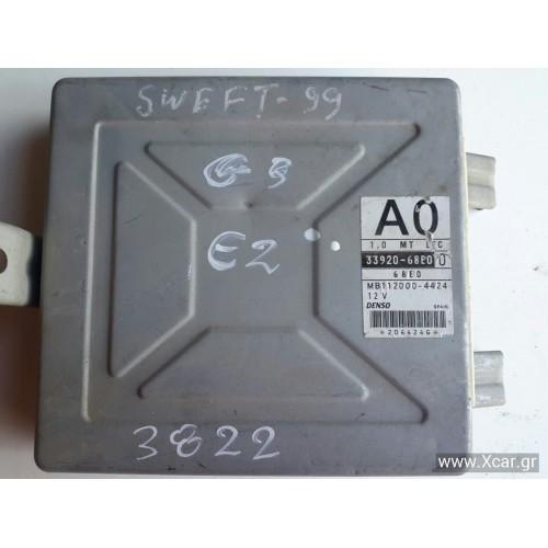 Εγκέφαλος Κινητήρα Κλειδωμένο SUZUKI SWIFT 1997 - 2005 ( SF ) DENSO 3392068E0