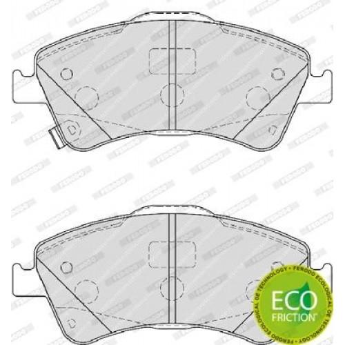 Τακάκια Σετ TOYOTA AVENSIS 2009 - 2012 ( T270 ) FERODO FDB4047
