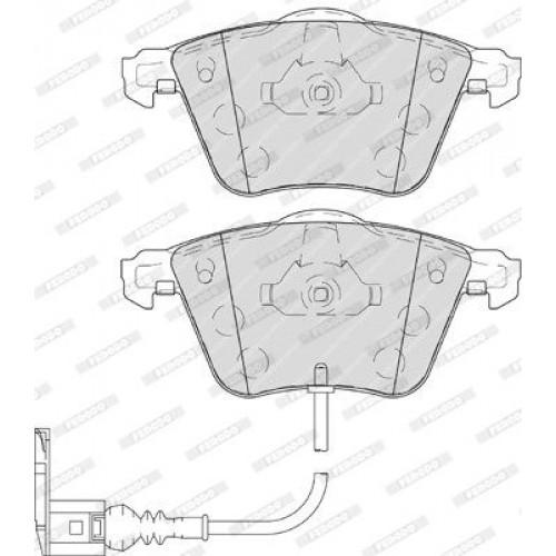 Τακάκια Σετ VW GOLF 2008 - 2013 ( Mk6 ) FERODO FDB4223