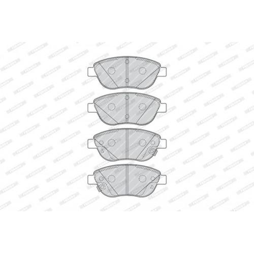 Τακάκια Σετ FIAT 500 2012 - 2017 ( L ) FERODO FDB4458