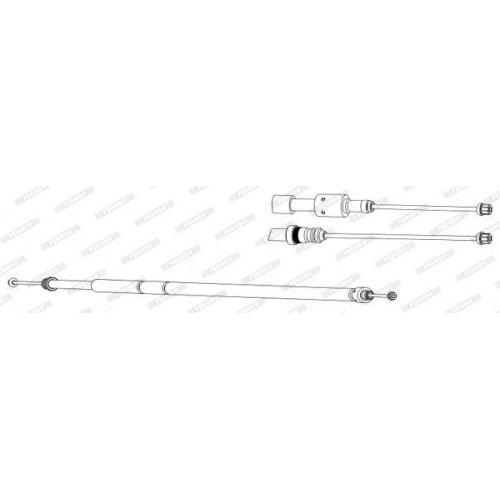 Ντίζες Χειροφρένου CITROEN XSARA 2000 - 2002 FERODO FHB432873