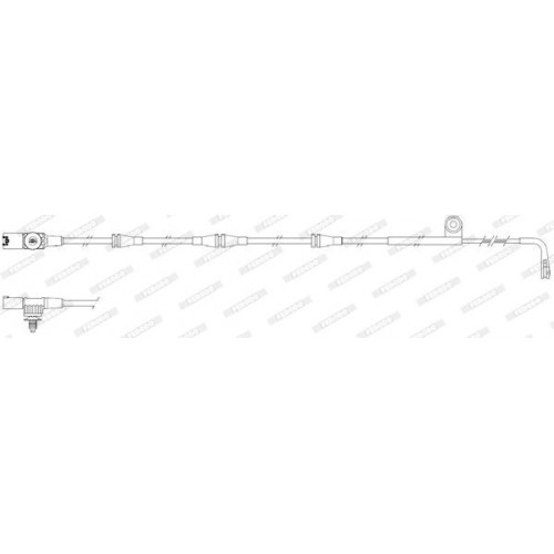 Τακάκια Σετ LANDROVER DISCOVERY 2004 - 2009 ( LA ) III FERODO FWI298