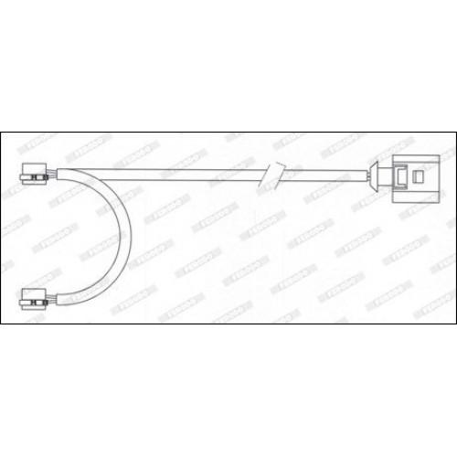 Τακάκια Σετ PORSCHE CAYENNE 2003 - 2007 ( 955 ) FERODO FWI339