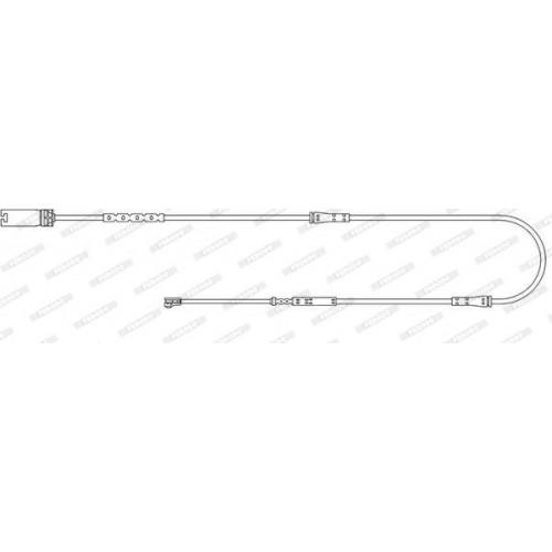 Τακάκια Σετ MINI PACEMAN 2014 - 2016 ( R61 ) FERODO FWI401