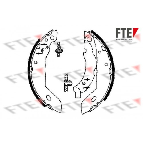 Θερμουίτ/Σιαγώνα PEUGEOT 205 1983 - 1992 ( 741 ) FTE BB1044A2