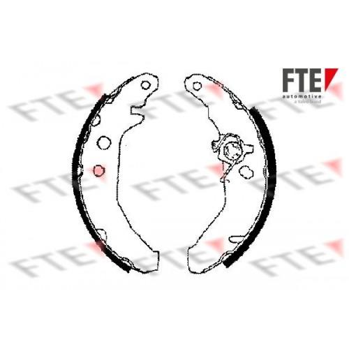 Θερμουίτ/Σιαγώνα FORD FIESTA 1990 - 1995 ( Mk3 )( GFJ ) FTE BB1102A2