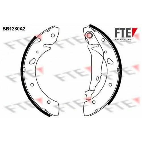 Θερμουίτ/Σιαγώνα TOYOTA AVENSIS 2000 - 2003 ( T220 ) FTE BB1280A2