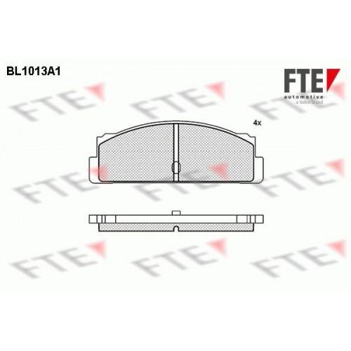 Τακάκια Σετ FTE BL1013A1