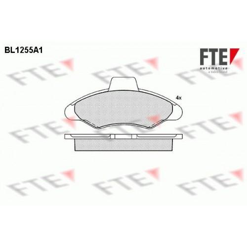Τακάκια Σετ FORD ESCORT 1990 - 1992 MK5 FTE BL1255A1