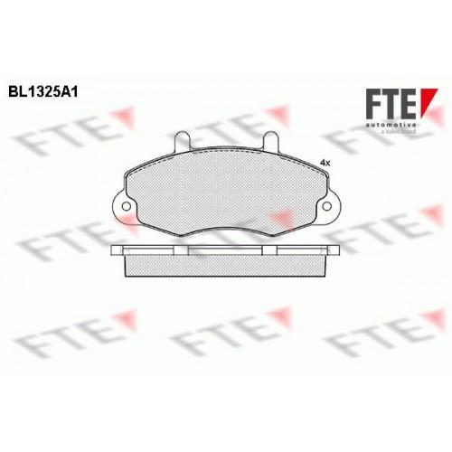 Τακάκια Σετ FORD TRANSIT 1991 - 1994 ( EA_ / E_ _ ) FTE BL1325A1