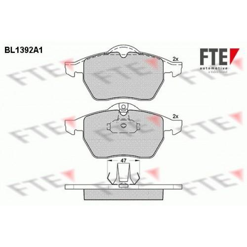 Τακάκια Σετ OPEL VECTRA 1996 - 1998 ( B ) FTE BL1392A1