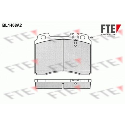 Τακάκια Σετ MERCEDES E CLASS 1985 - 1993 ( W124 ) FTE BL1468A2
