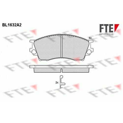 Τακάκια Σετ FTE BL1632A2
