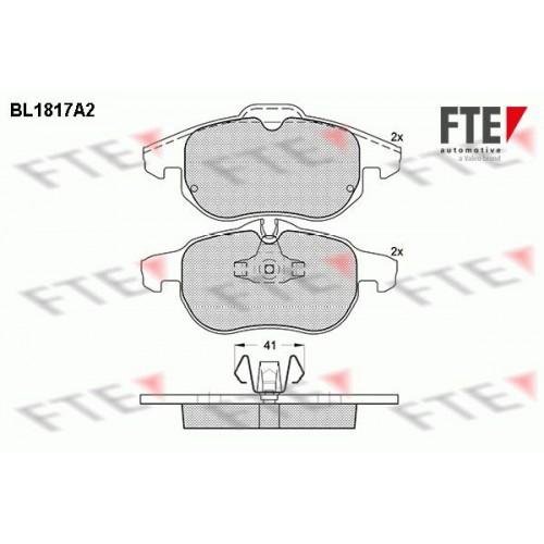 Τακάκια Σετ OPEL VECTRA 2002 - 2005 ( C ) FTE BL1817A2