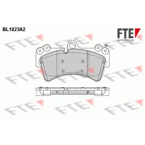 Τακάκια Σετ VW TOUAREG 2003 - 2007 ( 7L ) FTE BL1823A2