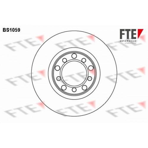 Δισκόπλακες FTE BS1059