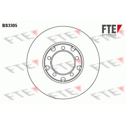 Δισκόπλακες FTE BS3305