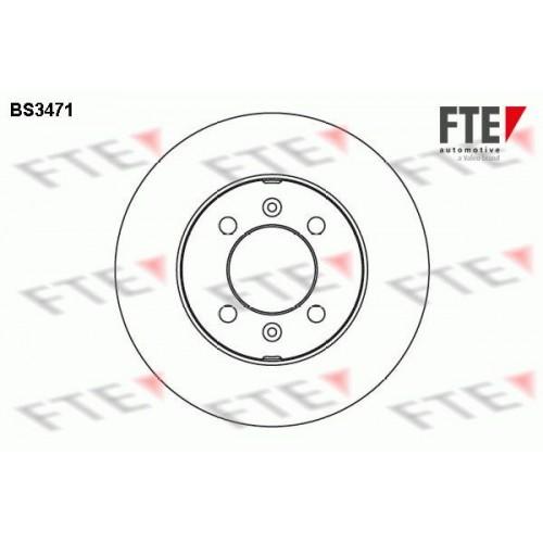 Δισκόπλακες ROVER 100 1995 - 1998 ( XP ) FTE BS3471