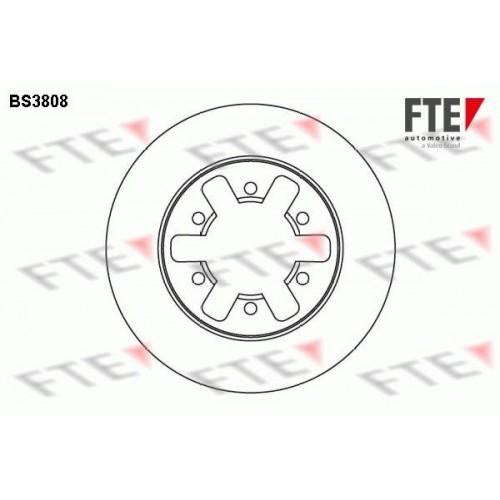 Δισκόπλακες FTE BS3808