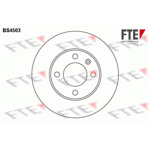 Δισκόπλακες VW POLO 1994 - 1999 ( 6N1 ) FTE BS4503