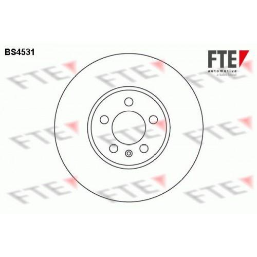 Δισκόπλακες VW GOLF 1992 - 1998 ( Mk3 ) FTE BS4531