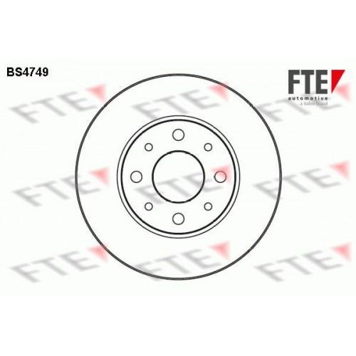 Δισκόπλακες FIAT MAREA 1996 - 2002 ( 185 ) FTE BS4749
