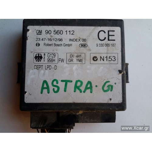 Πλακέτα Κεντρικού Κλειδώματος OPEL ASTRA 1998 - 2004 ( G ) GM 90560112