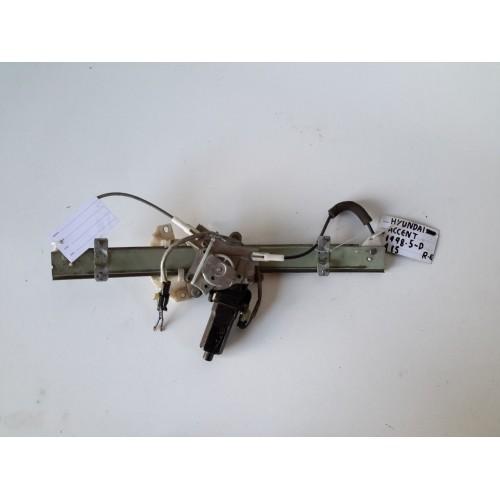 Γρύλος Παραθύρου Με Μοτέρ HYUNDAI ACCENT 1997 - 1999 ( UA ) ( X3 ) Εμπρός Δεξιά XC2525