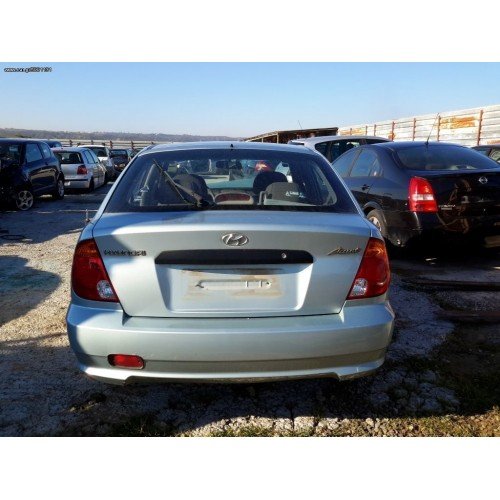 Ολόκληρο Αυτοκίνητο HYUNDAI ACCENT 2003 - 2005 ( CG ) ( LC2 ) XC702