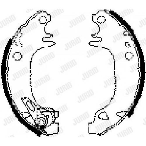 Θερμουίτ/Σιαγώνα PEUGEOT 106 1992 - 1995 JURID 362249J