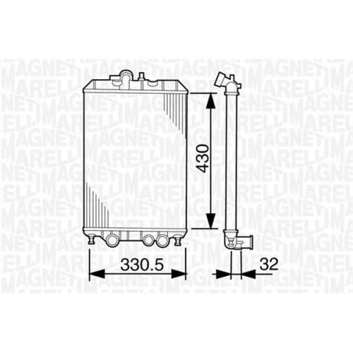 Ψυγείο Νερού MAGNETI MARELLI 350213156000