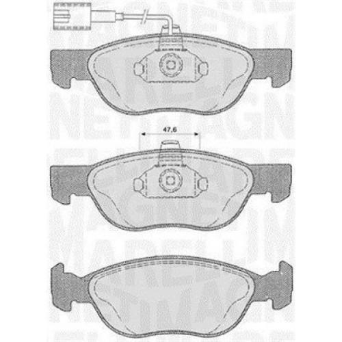 Τακάκια Σετ FIAT BRAVA 1995 - 2003 ( 182 ) MAGNETI MARELLI 363916060102
