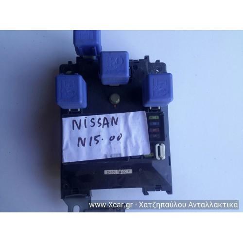 Ασφαλειοθήκη NISSAN ALMERA 1998 - 2000 ( N15 ) 243501N000F