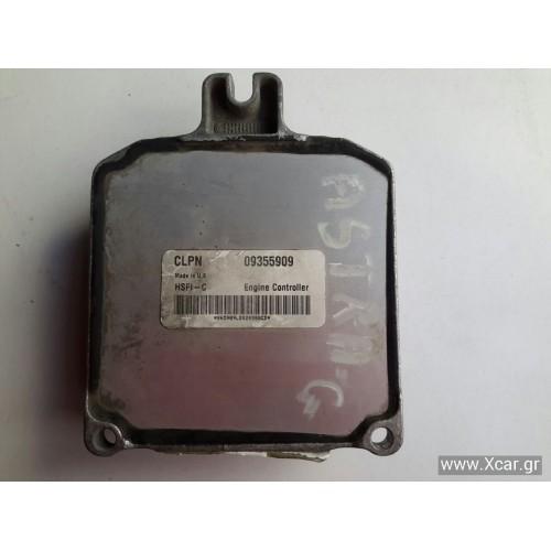 Εγκέφαλος Κινητήρα OPEL ASTRA 1998 - 2004 ( G ) 09355909