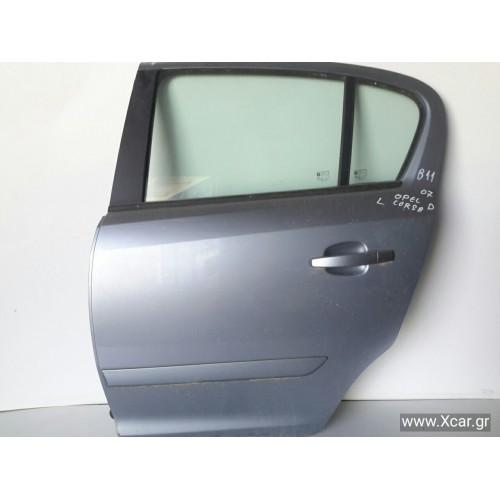 Πόρτα OPEL CORSA 2006 - 2011 ( D ) Πίσω Αριστερά XC8086