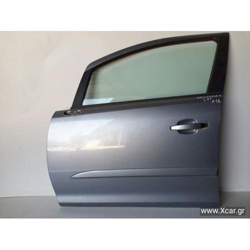 Πόρτα OPEL CORSA 2006 - 2011 ( D ) Εμπρός Αριστερά XC8221