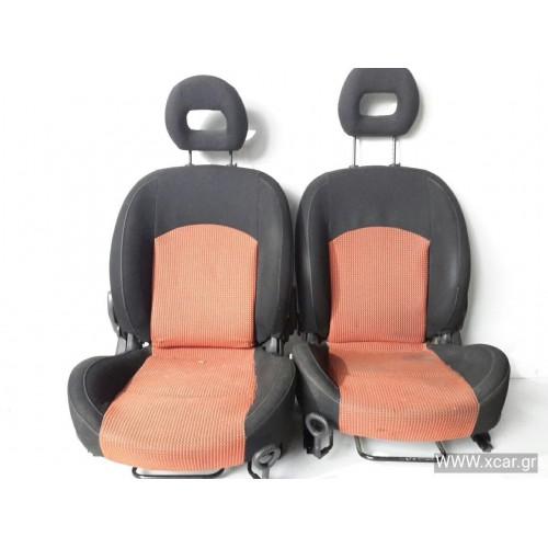 Καθίσματα Χωρίς Αερόσακο PEUGEOT 206 2000 - 2008 ( CC ) XC55095