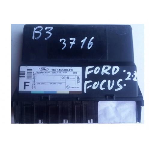 Πλακέτα Κεντρικού Κλειδώματος FORD FOCUS 2002 - 2004 ( MK1B ) SIEMENS 1S7T-15K600-FD