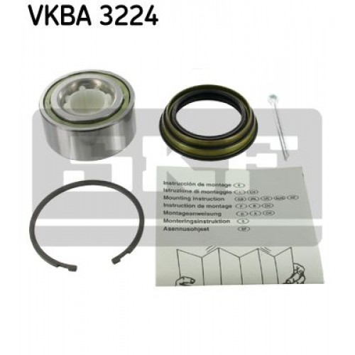Ρουλεμάν τροχών NISSAN MICRA 1986 - 1992 ( K10 ) SKF VKBA 3224