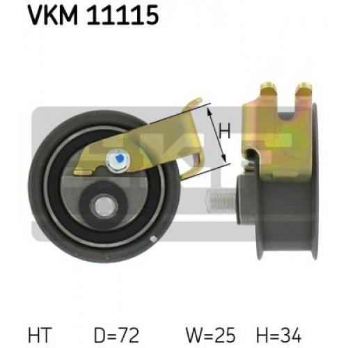 Τεντωτήρας VW NEW BETTLE 2005 - 2011 ( 9C1 ) SKF VKM 11115